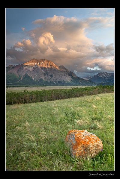 Where prairie meets mountain